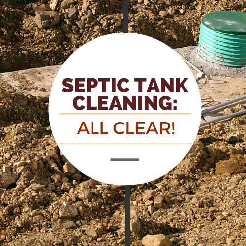 Septic Tank Cleaning: All Clear!