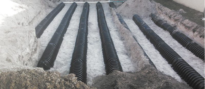 Drain Field Installation in Haines City, Florida