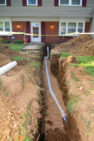 septic tank pumping is sewage backing up into your home