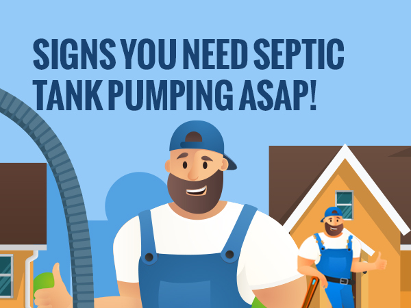 Signs You Need Septic Tank Pumping ASAP! [infographic]