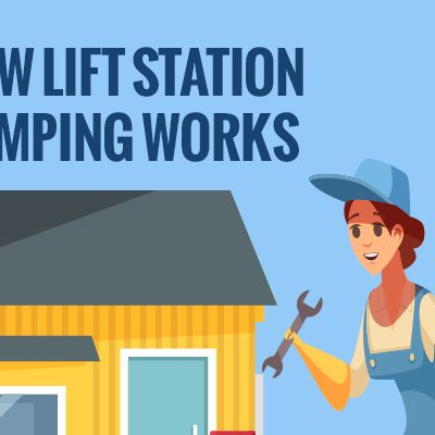 How Lift Station Pumping Works [infographic]